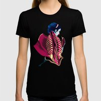 Anatomy 07a Womens Fitted Tee Black SMALL