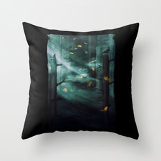 In the Woods Tonight Throw Pillow
