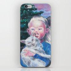 Albino cat iPhone & iPod Skin