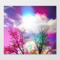 Flavored Skies  Canvas Print