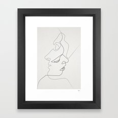 Close Framed Art Print
