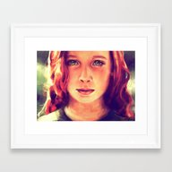 Look At Me... Framed Art Print