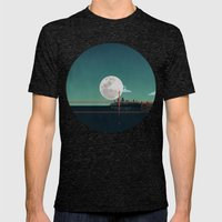 SAN FRANCISCO Mens Fitted Tee Tri-Black SMALL