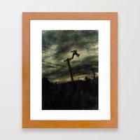Hunting Framed Art Print
