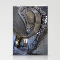 Steps of forgotten beauty. Stationery Cards