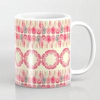 Ethnic Geometric Pattern Mug