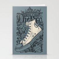 Old School King Stationery Cards