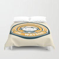 Cute John Watson - Orange Duvet Cover