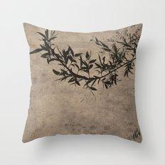 Oriental Breeze Throw Pillow