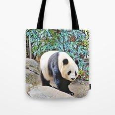 Panda at the San Diego zoo Tote Bag