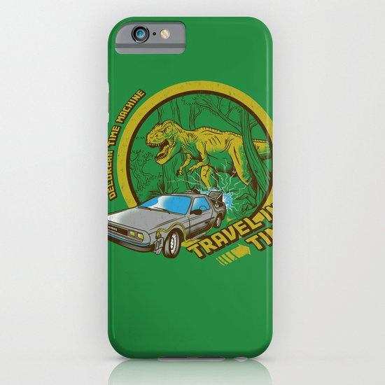 Travel in Time iPhone & iPod Case