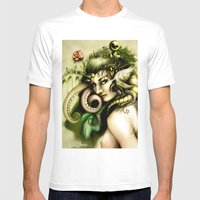 Life Shards Mens Fitted Tee White SMALL