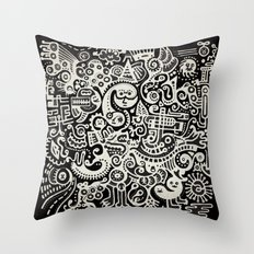 Earthly Creatures #1 Throw Pillow