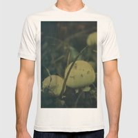 Magic Mushrooms Mens Fitted Tee Natural SMALL