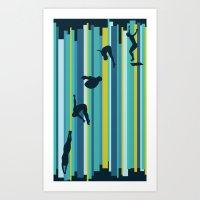 Olympic Diving Art Print