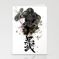Darth in Dark Stationery Cards