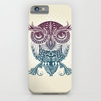 iPhone Cases featuring Baby Egyptian Owl by Rachel Caldwell