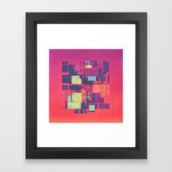 TRUE COLORS (everyday 09… Framed Art Print