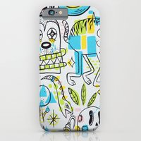 iPhone & iPod Case featuring Shape Shifters by Frenemy