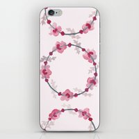 cherry blossom iPhone & iPod Skin
