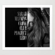 Art Print featuring Clone Club: Sarah by Studio|19