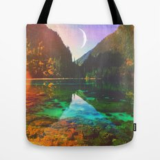 Skin Of The Night Tote Bag
