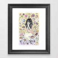 Sugaria Framed Art Print