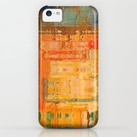 iPhone 5c Cases featuring Colorful urban by rafi talby by Rafi Talby - Painter