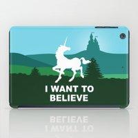 I WANT TO BELIEVE - Unic… iPad Case