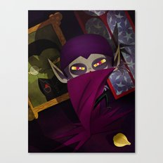 the vampire Canvas Print
