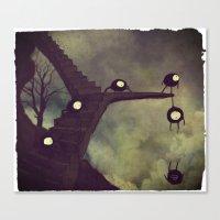 Again N.7, Or Maybe 9 Canvas Print