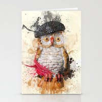 Spain Owl Stationery Cards