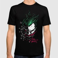 Joker Mens Fitted Tee Black SMALL
