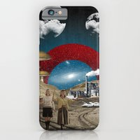 iPhone & iPod Case featuring Modern Vintage Collection  -- Uncertain Future by Elo Marc