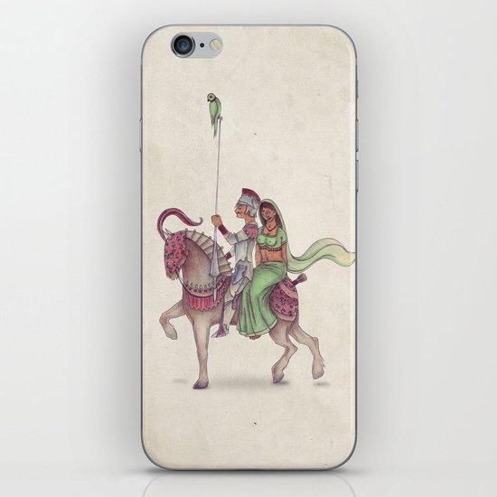 Indian Knight iPhone & iPod Skin