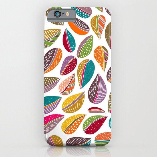 Leaf Colorful iPhone & iPod Case