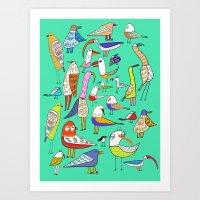 Tweet Tweet Tweet. Art Print