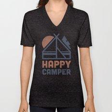 Happy Camper Unisex V-Neck