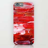 iPhone & iPod Case featuring Red by Claudia McBain