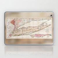 1842 Mather Map Of Long … Laptop & iPad Skin