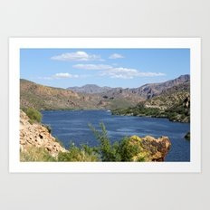 Natural Arizona Art Print