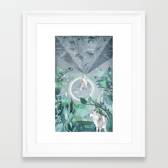A Tale to Tell Framed Art Print