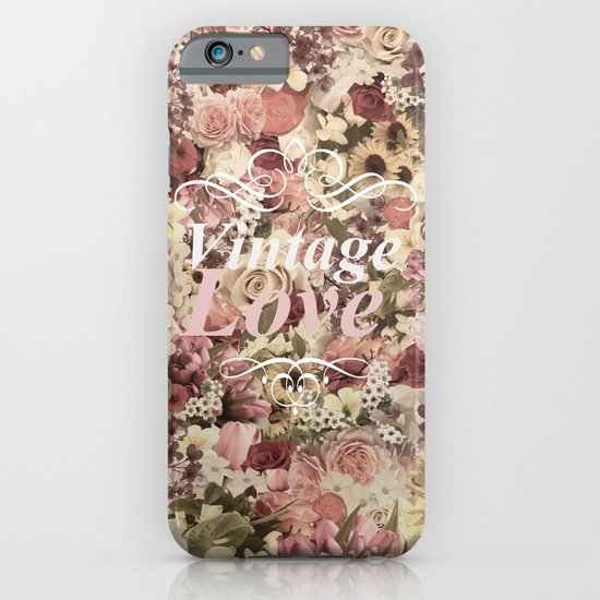 VINTAGE LOVE  iPhone & iPod Case