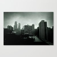Winter in Chicago Canvas Print