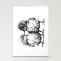 Baby Chicks - Little Kiss G133 Stationery Cards