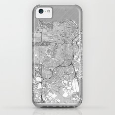 San Francisco Map Line iPhone 5c Slim Case