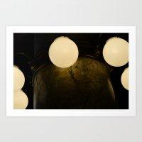 Light Marbles  Art Print