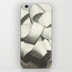 Ribbon - Graphite Illustration iPhone & iPod Skin