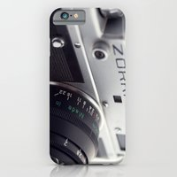 iPhone & iPod Case featuring Zorki  by Nina