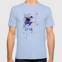 Ride North Mens Fitted Tee Athletic Blue SMALL
